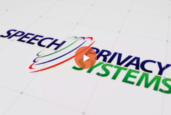 Speech Privacy Systems – Install Demo